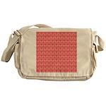 Polka Dot Heart Pattern Messenger Bag
