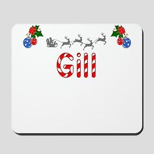 Gill, Christmas Mousepad