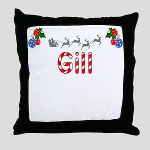 Gill, Christmas Throw Pillow