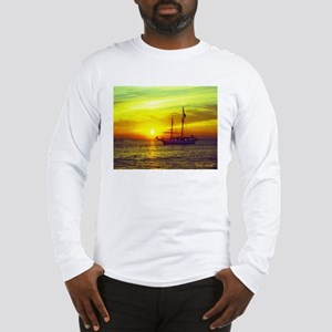 key west at sunset Long Sleeve T-Shirt
