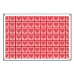 Polka Dot Heart Pattern Banner