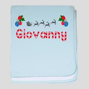 Giovanny, Christmas baby blanket