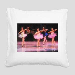 buckeroo Square Canvas Pillow