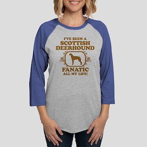 3-Scottish-Deerhound Womens Baseball Tee