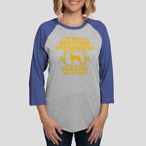 4-Scottish-Deerhound Womens Baseball Tee
