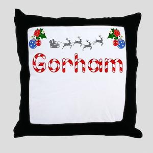 Gorham, Christmas Throw Pillow