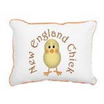 New England Chick Rectangular Canvas Pillow