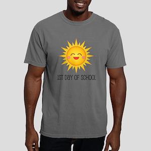 1st Day Of School Happy  Mens Comfort Colors Shirt