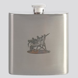 Sports Science Logo White text Flask