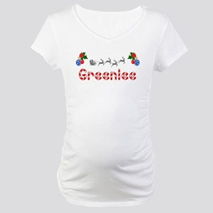 Greenlee, Christmas Maternity T-Shirt