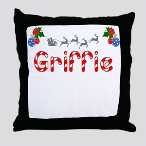 Griffie, Christmas Throw Pillow