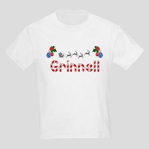 Grinnell, Christmas Kids Light T-Shirt