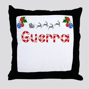 Guerra, Christmas Throw Pillow