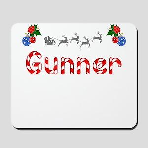 Gunner, Christmas Mousepad