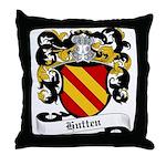 Hutten Coat of Arms Throw Pillow