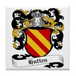 Hutten Coat of Arms Tile Coaster