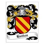 Hutten Coat of Arms Small Poster