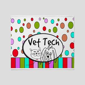 Vet Tech Tote 2 Throw Blanket