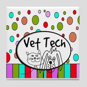 Vet Tech Tote 2 Tile Coaster