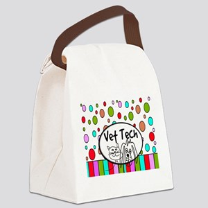 Vet Tech Tote 2 Canvas Lunch Bag