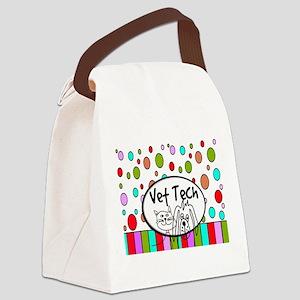 Vet Tech Tote 2 Canvas Lunch Bag