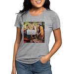 dodgy_tile.png Womens Tri-blend T-Shirt