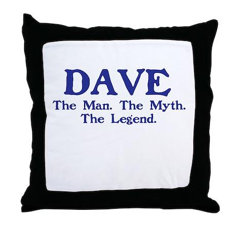 dave.png Throw Pillow