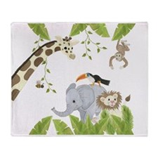Jungle Throw Blanket