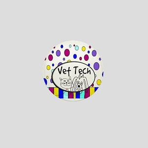 Vet Tech Tote 1 Mini Button