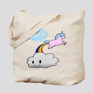 Cute Unicorn Fart! ... TOOT! Tote Bag