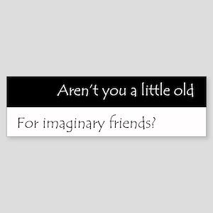ImaginaryFriends Sticker (Bumper)