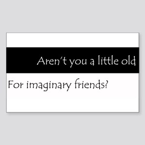 ImaginaryFriends Sticker (Rectangle)