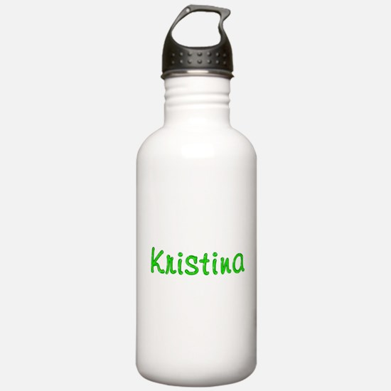 Kristina Glitter Gel Sports Water Bottle