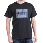 Flagpole and verse Dark T-Shirt