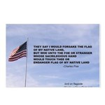 Flagpole and verse Postcards (Package of 8)