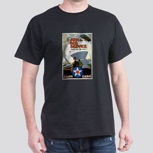 """Give'er The Gun"" WWI Poster Dark T-Shirt"