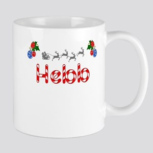 Hebb, Christmas Mug