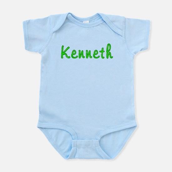 Kenneth Glitter Gel Infant Bodysuit