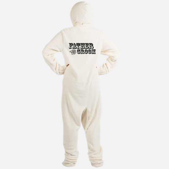 Father of the Groom Footed Pajamas