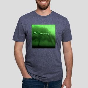 McTreemy Mens Tri-blend T-Shirt