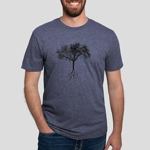 Tree Mens Tri-blend T-Shirt