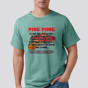 BALLSOFFURY PING-PONG Mens Comfort Colors Shirt
