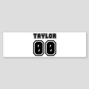 TAYLOR JERSEY 00 Bumper Sticker