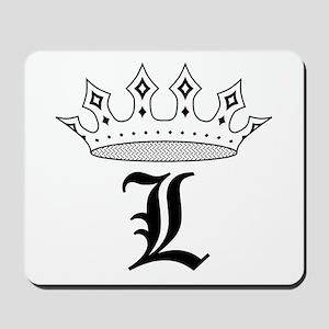 Crown L Mousepad