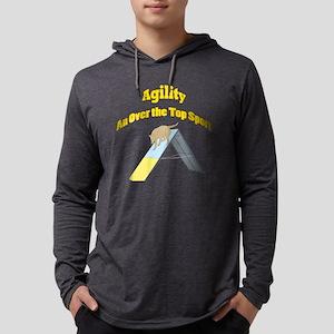AgilityOverTheTopSquare Mens Hooded Shirt