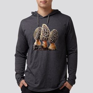 paintedmorels Mens Hooded Shirt