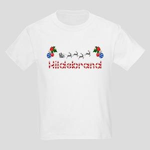 Hildebrand, Christmas Kids Light T-Shirt