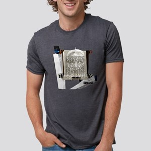 odyssey modified color 6 x Mens Tri-blend T-Shirt