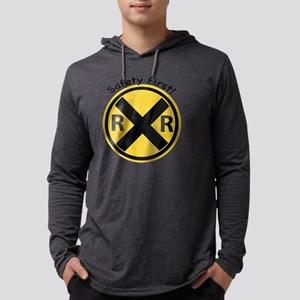 Safety First Mens Hooded Shirt