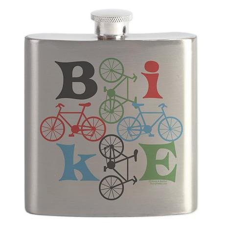 Four Bikes Flask